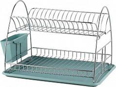 Сушилка для посуды MAXMARK MK-D2204 двухуровневая
