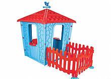 Игровой домик с оградой Pilsan Stone 06-443