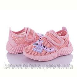 Дитячі текстильні кросівки для дівчинки ОВТ р20-25 ( код 5691-00)