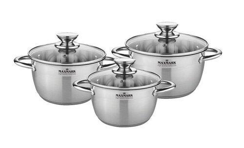 Набор посуды MAXMARK MK-VS8506A