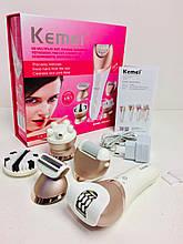 Эпилятор аккумуляторный Kemei KM 8001 5в1 (24 шт/ящ)