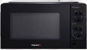 Мікрохвильова піч СОЛО VILGRAND VMW 7208 чорна, фото 2
