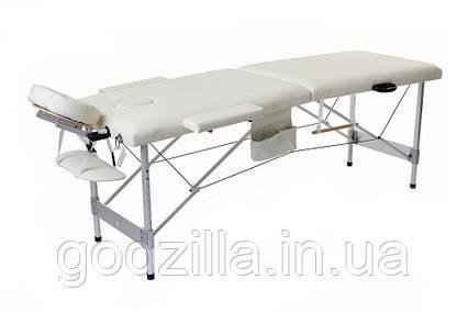 Массажный стол  двух-сегментный алюминиевый 4 цвета