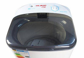 Пральна машина напівавтомат MILANO XPB-30 PA сіра, фото 2