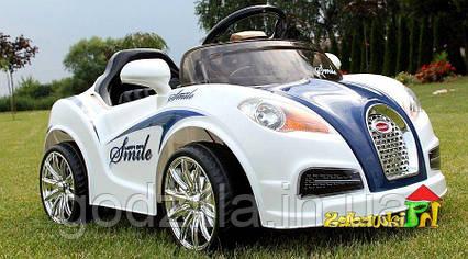 Детский электромобиль  Bugatti с дистанционным управлением