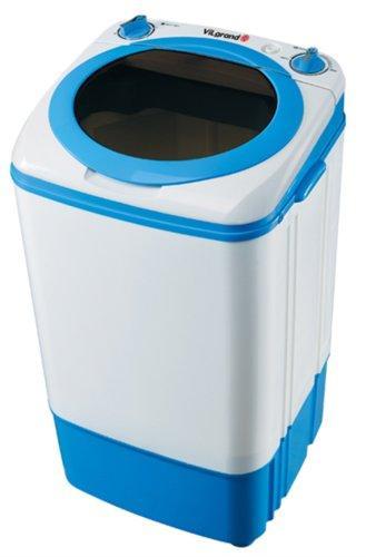 Стиральная машина полуавтомат VILGRAND V701S белая с голубым