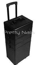 Великий косметичний валізу 4-ох секційна