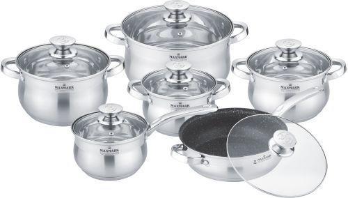 Набір посуду MAXMARK MK-BL2512A