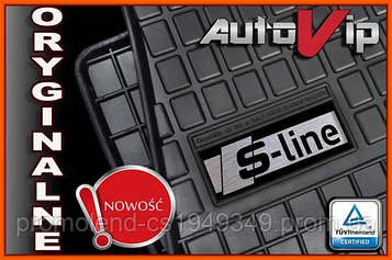 Резиновые коврики для  Audi A4 B5