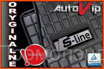 Резиновые коврики для  Audi A6 C5