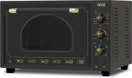 Електродуховка ARTEL MD-3618L Retro Black (36л,конвекція,підсвітка,4 режиму)