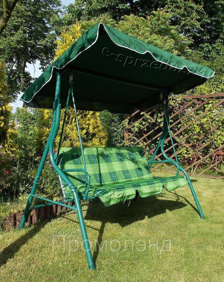 Садові гойдалки VIP для 3 осіб