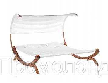 Лежак деревянный Beliani