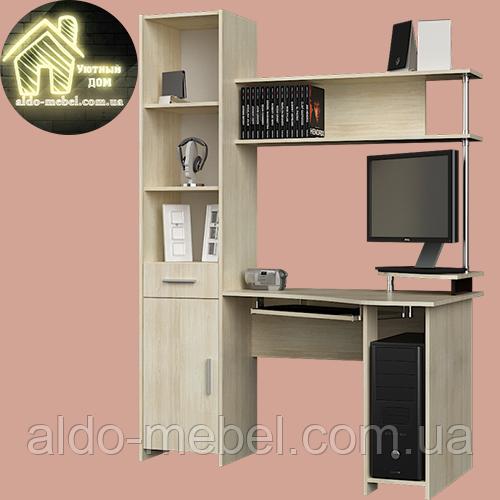 Угловой компьютерный стол Профи (1450х800х1950) Эверест