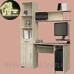 Кутовий комп'ютерний стіл Профі (1450х800х1950) Еверест