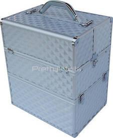 Косметичний кейс NS06 silver 3D 35 x 25 x 40 см