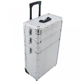 Косметичний валізу трехсегментный K493