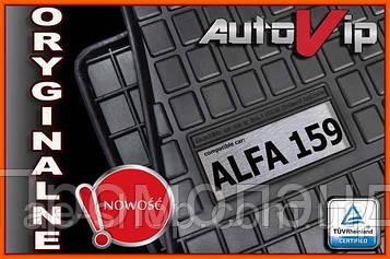 Резиновые коврики ALFA ROMEO 159 05-11  с логотипом