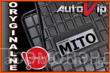 Гумові килимки ALFA ROMEO MITO 08 - з логотипом