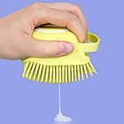 ОПТ Силіконова масажна щітка для ванни Silicone Massage Bath Brush, фото 2