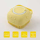 ОПТ Силіконова масажна щітка для ванни Silicone Massage Bath Brush, фото 4