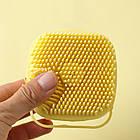 ОПТ Силіконова масажна щітка для ванни Silicone Massage Bath Brush, фото 5