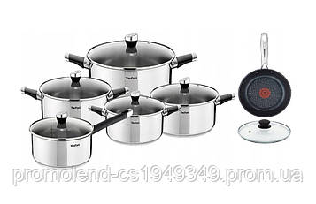 Набір посуду TEFAL EMOTION + Сковорода з кришкою 30см 12 їв