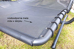 Лежак-шезлонг, гойдалки двомісний DELUX, фото 2