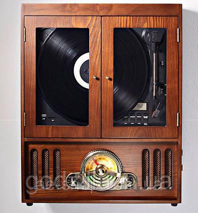 Проигрыватель виниловых пластинок в ретро стиле Soundmaster NR600