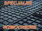 Резиновые коврики MERCEDES W210 W211 W212  с логотипом, фото 3