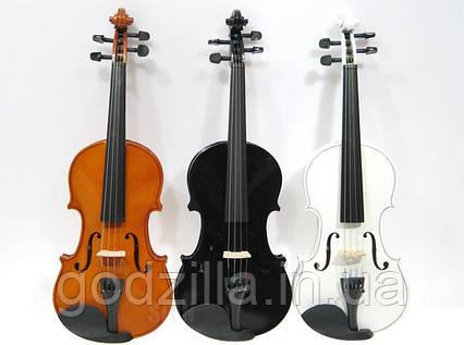 Скрипка Jago 4/4, три цвета + кейс