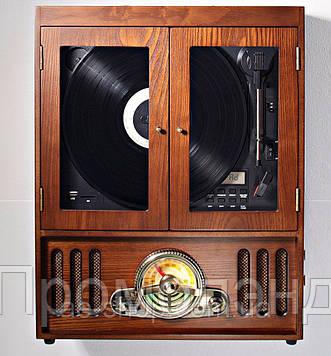 Програвач вінілових платівок в ретро стилі Soundmaster NR600