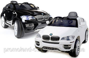 Электромобиль детский BMW X6  3 цвета