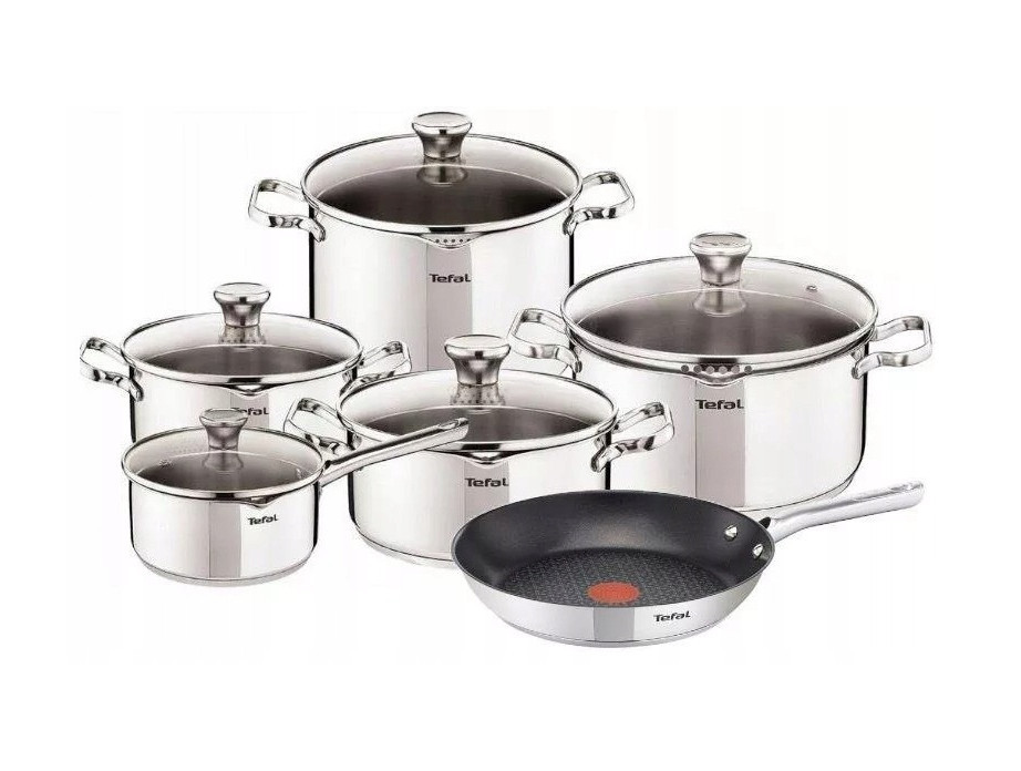Набор посуды TEFAL DUETTO + Сковорода 28см  11ел