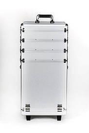 Кейс з 4-секційний з семной кришкою і шафками.