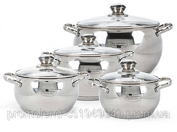 Набір посуду Edenberg EB-1115 з 8 елементів