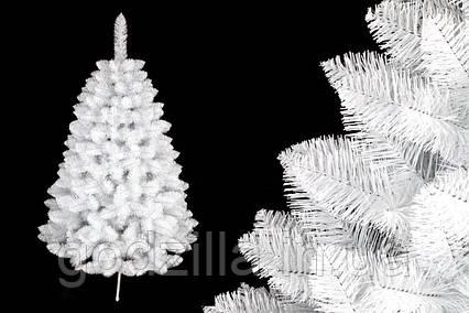 """Сосна """"Белоснежная"""" на пластиковой подставке + гирлянда в подарок"""