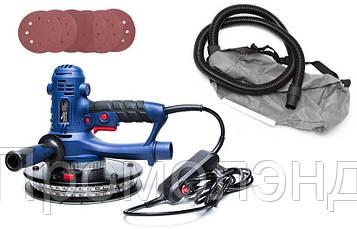 Шліфмашинка для штукатурки з підсвічуванням Powermat 1400 Вт