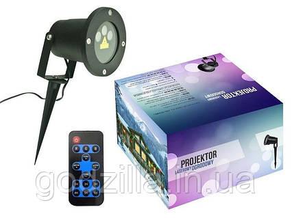 Лазерный проектор 3 цвета RGВ 24 световых эффекта