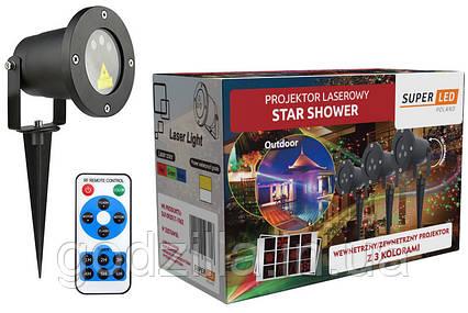 Лазерный проектор SuperLED RGB 12 новогодних эффектов