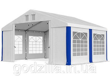 Шатер Палатка Садовая с окнами SUMMER FLOOR  PVC 3 x 4m