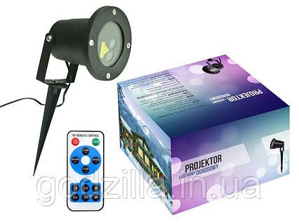 Лазерный проектор 2 цвета RG 8в1 + пульт