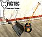 Плуг снігоочисник на колесах FUXTEC, фото 6