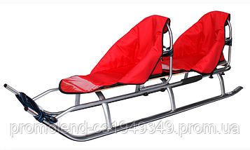 Санки DUO SPORT RED