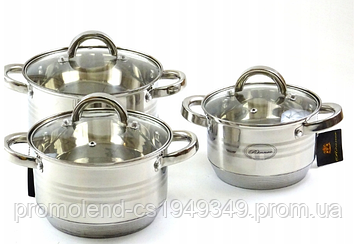 Набір посуду RONNER AUSTRIA 6 елементів
