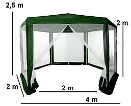 Садовая палатка 2x2x2, фото 2