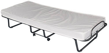 Складна ліжко з матрацом 80x190 см