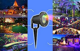 Лазерний проектор RG 12w1 два кольори, фото 3