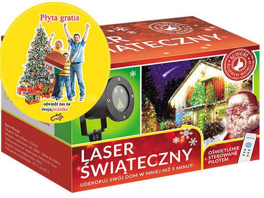 Лазерный проектор RGB 8в1  Елки, снежинки, звездочки 3 цвета (RGB2210), фото 2