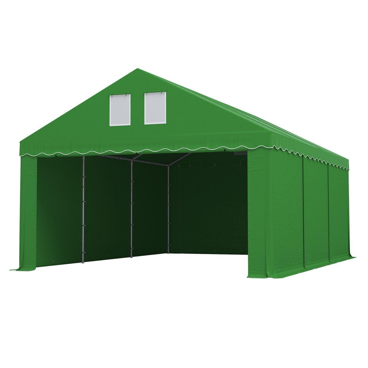 Тэнтовый гараж COMFORT ПВХ 3 x 6м Зелений